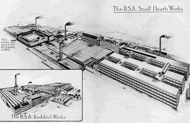 Factory at Small Heath