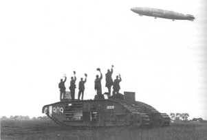 Beardmore built tanks and airships