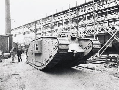 Beardmore built tanks