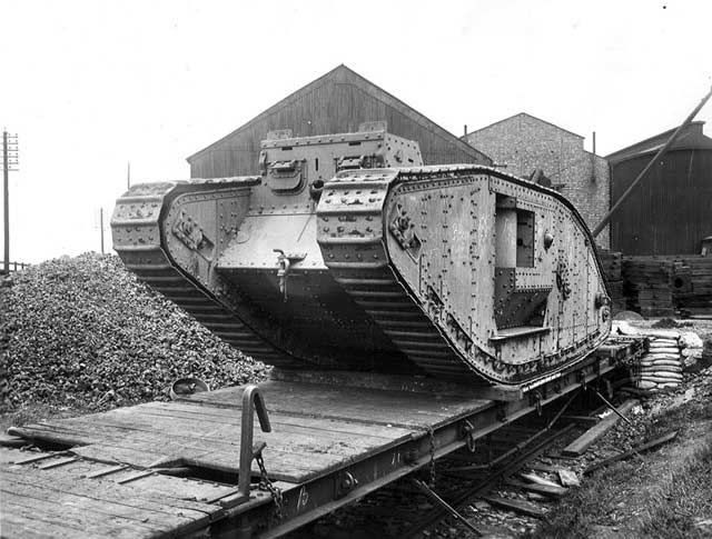 Tank ready for delivery