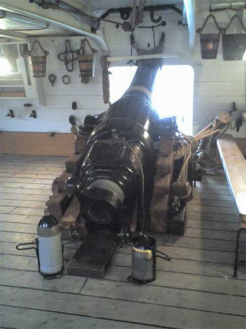 Picture of 110 lb Armstrong breech loader
