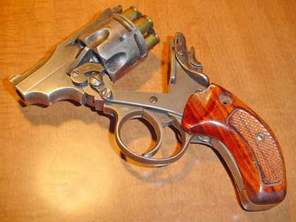 picture of Webley handgun