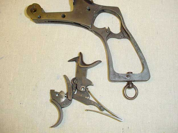Picture of Webley trigger and frame