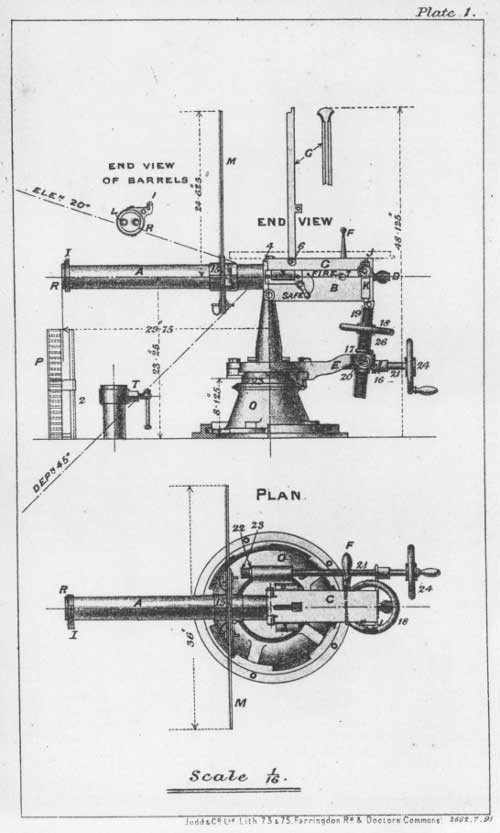 schematic of Gardner Gun