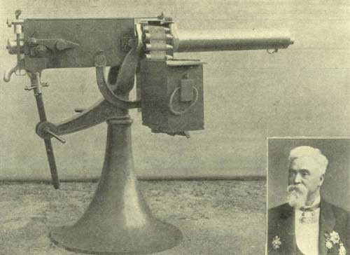 Maxim and his gun
