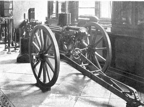 picture of British Gatling Gun