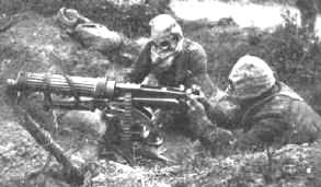 British machinegunner