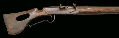 Matchlock from 1600's