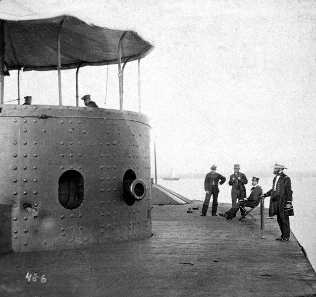 Turret of the USS Monitor