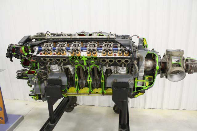 Allison engine cutaway
