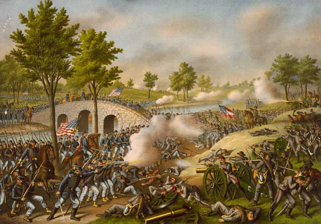 picture of Antietam battle