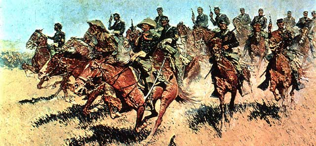 Reminton's Cavalry Charge