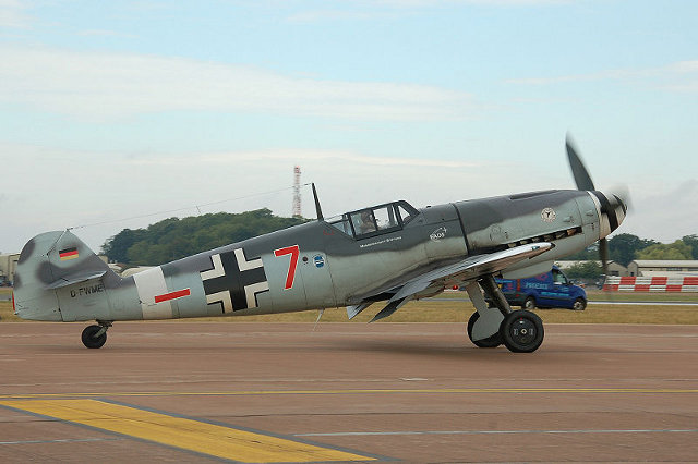 picture of Buchon aircraft with correct engine