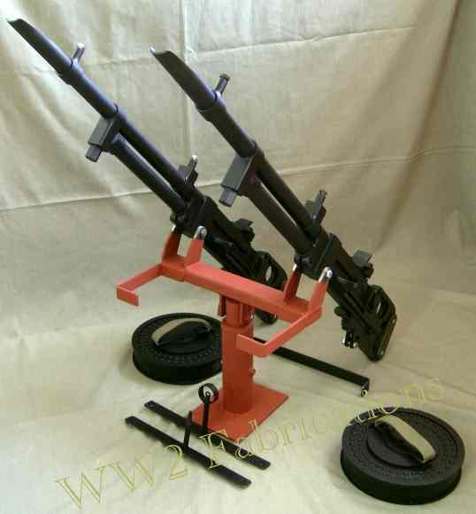 picture of reproduction Vickers K guns