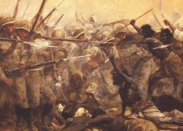 The Battle at Abu Klea