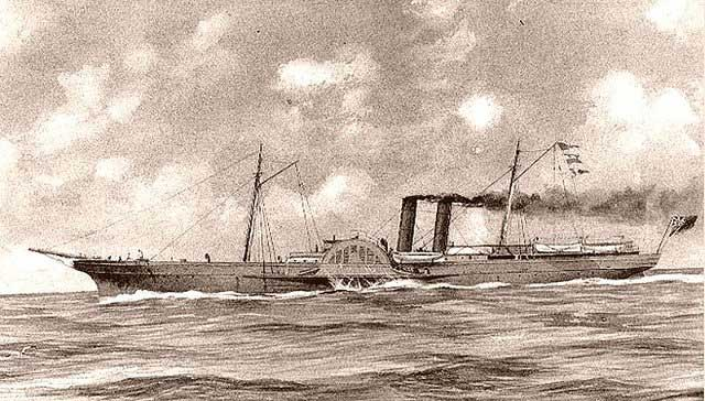 Civil War blockade runner