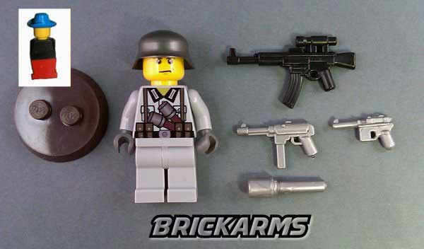 Brick Arms minifigure