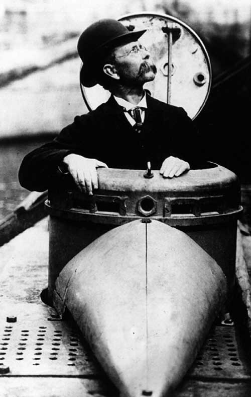 Subs inventor, John Phillip Holland