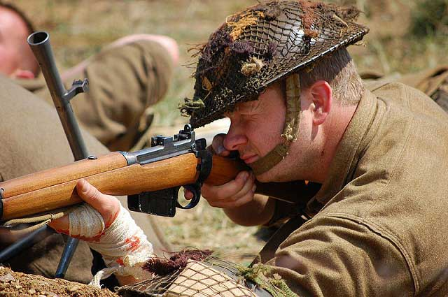Rifleman with Enfield