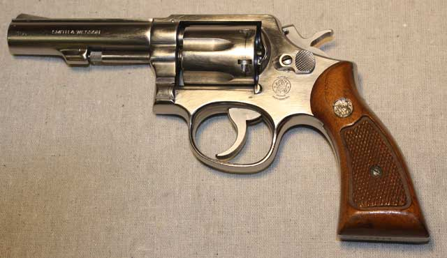picture of K-frame revolver