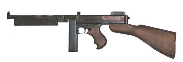 picture of Thompson submachine gun