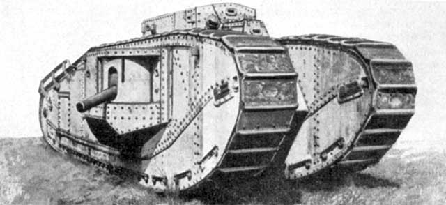 picture of Mk VII tank