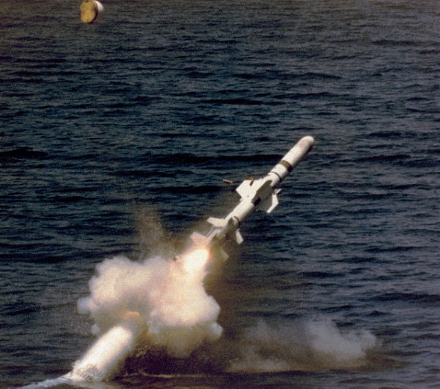 picture of Harpoon Anti-Ship Missile