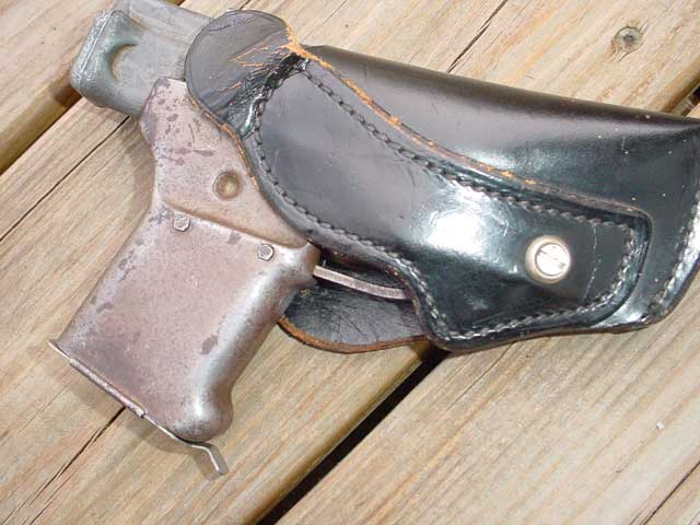 Liberator in a holster