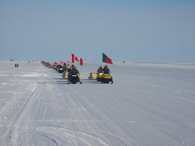 Arctic Rangers on maneuvers