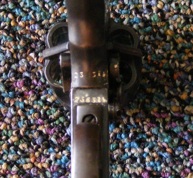 picture of Webley pistol