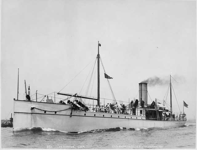 picture of USS Vesuvius