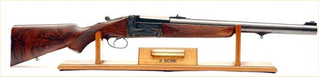 Picture of 4 bore rifle