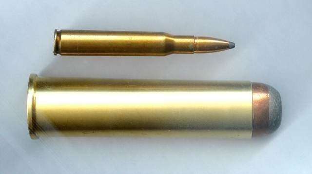 Picture of 4 bore ammunition