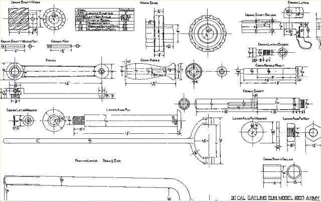 Gatling drawings on Scribd on