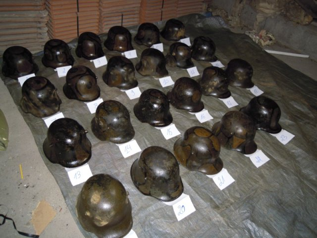 picture of helmets cleaned up