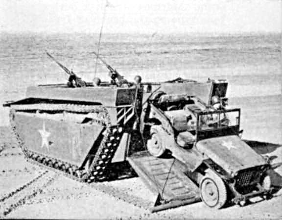 Military Alligator LVT-4