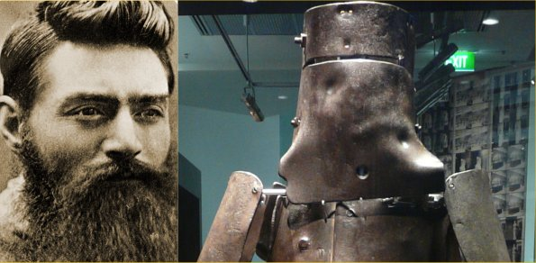 Ned Kelly and armor