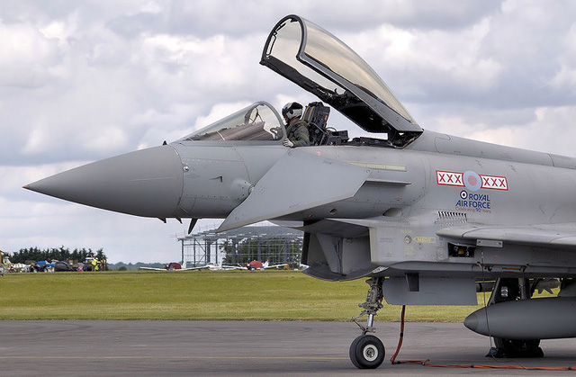 Picture of British Typhoon