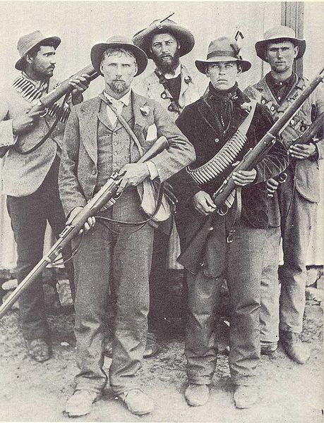 A group of Boers from the 2nd war