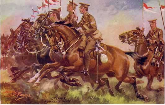 picture of 17th Lancers in WW1