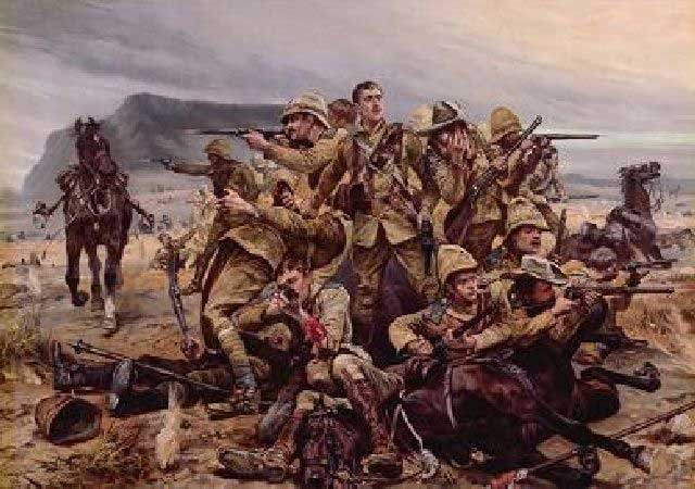 picture of the Battle of Moddersfontein