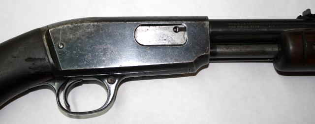 picture of rifle's receiver