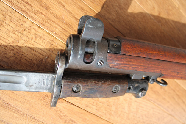 Bayonet mounted