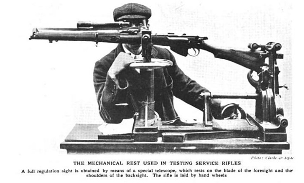 Enfield rifle rest