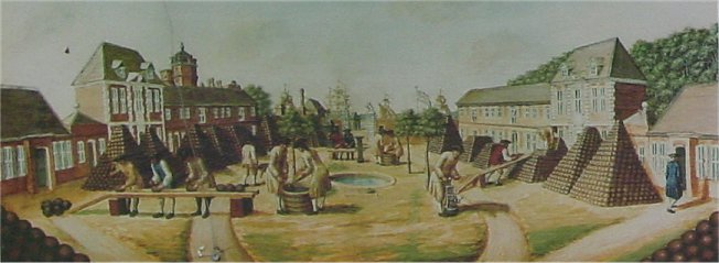 Painting of Arsenal