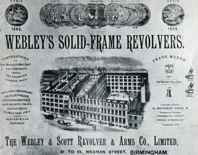 Advertisement from 1897
