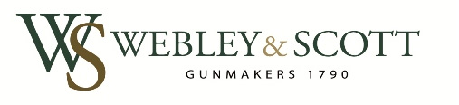 The current Webley & Scott logo