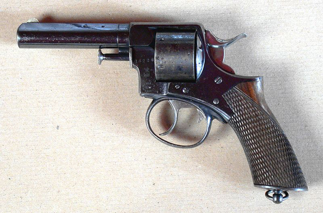 Picture of Webley RIC revolver